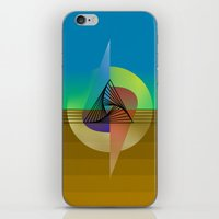 fifth element iPhone & iPod Skins featuring Element by Erik Decker