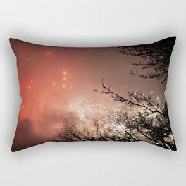 Glowing sky Rectangular Pillow