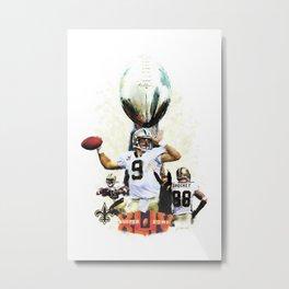 Super New Orleans Saints NFL Football Metal Print