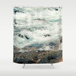 riverscape jd Shower Curtain