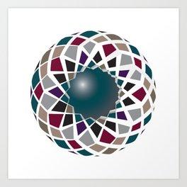 gem dome Art Print