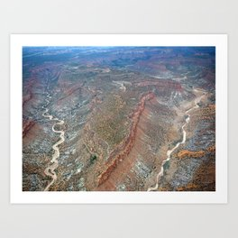 Grand Canyon bird's eye view #2 Art Print
