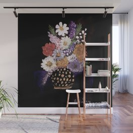 Beautiful Bouquet of Flowers Wall Mural