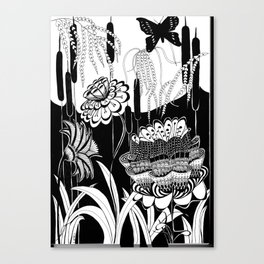 Magical Garden Canvas Print