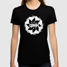 Dark - white T-shirt