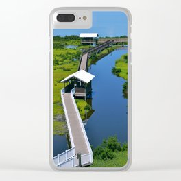 South Padre Island Clear iPhone Case