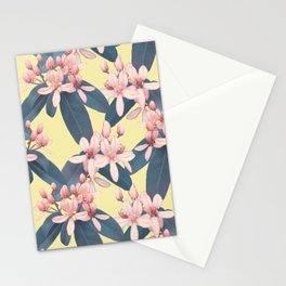 Galphimia in Mist Stationery Cards