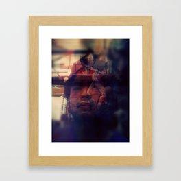 July X VI Framed Art Print