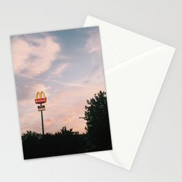 the golden arches Stationery Cards