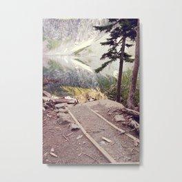 Lake Serene Metal Print