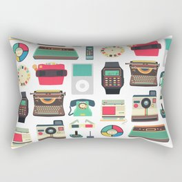 RETRO TECHNOLOGY 2.0 Rectangular Pillow