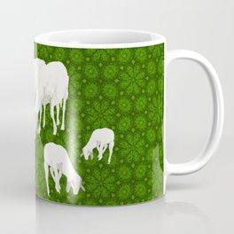 Goats eating grass Coffee Mug