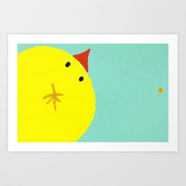 """The Peek"" Art Print"