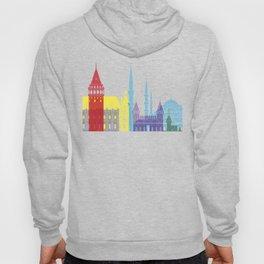 Istanbul skyline pop Hoody