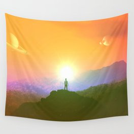 Paint Me A Picture Wall Tapestry