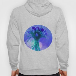 A Blue Bloom for Spring Hoody