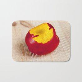 ripe peach Bath Mat