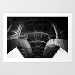 belly of the whale Art Print