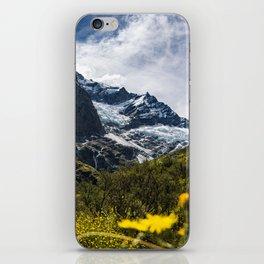 Flower Glacier iPhone Skin