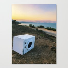 Electric Dreams on Galilee Canvas Print