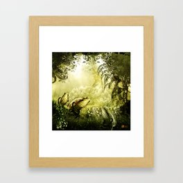 """Catch (Forest)"" Framed Art Print"