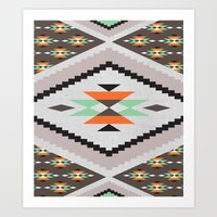 navajo Art Prints featuring Navajo by Priscila Peress