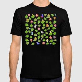 birds&leaves T-shirt