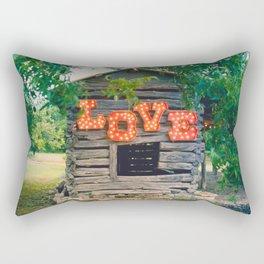 Love shack Rectangular Pillow