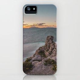 Long exposure seascape iPhone Case