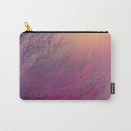 Pink Purple Autumn Dusk Carry-All Pouch