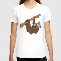 sloth T-shirts featuring Sloth by Hoborobo