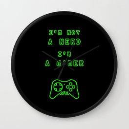 Nerd? Gamer Wall Clock