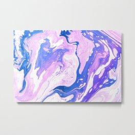 marble_no.2 Metal Print