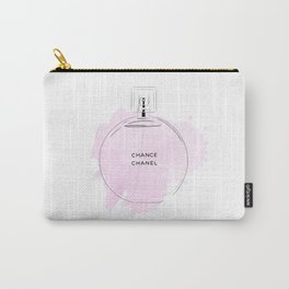 Round purple perfume Carry-All Pouch