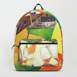 Gino Severini Red Cross Train Backpack