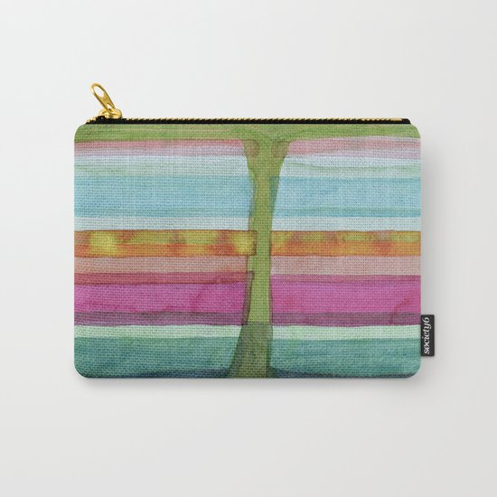 Two Glasses of Water Carry-All Pouch