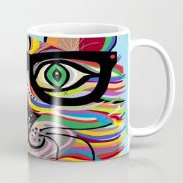 VERY Cool Cat Coffee Mug