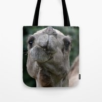 camel Tote Bags featuring Camel by Gredmonds