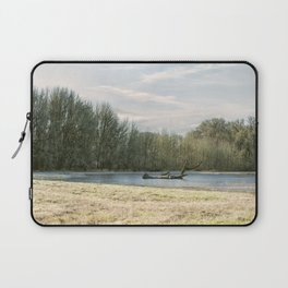 Waiting for the Birds Laptop Sleeve