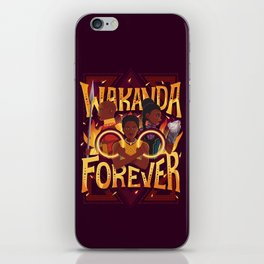 Women of Wakanda iPhone Skin