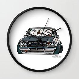 Crazy Car Art 0157 Wall Clock