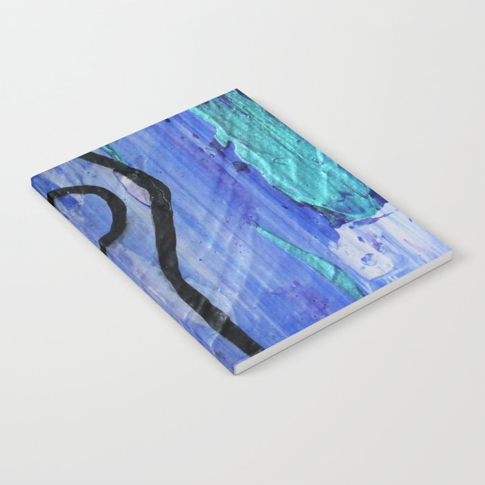 Mountain pose abstract Notebook