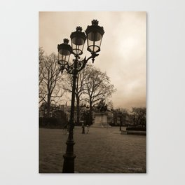 One Day in Winter Canvas Print