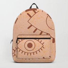 Retro Evil Eye II Backpack