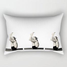 Urdhva Mukha Paschimottanasana Rectangular Pillow
