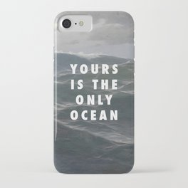 Ocean Approaching iPhone Case
