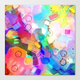 Fall Into Color Canvas Print