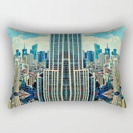 NYC in patterns Rectangular Pillow