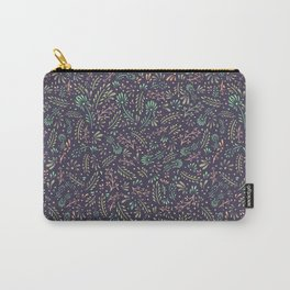 Pastel Flower Ditsy Pattern Carry-All Pouch