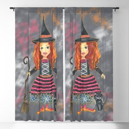 Zelda the Good Witch Blackout Curtain